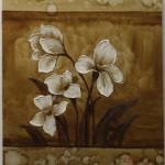 White Bloom (original floral)