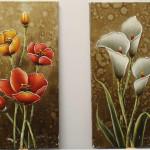 floral (original acrylic)