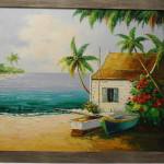 bay view (tropical landscape)