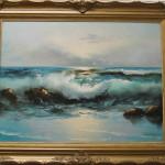 mediterenian coast (sea scape paintings)
