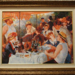 Luncheon of the Boating Party by Renoir (reproduction)
