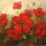 Red Poppies (Floral Pintings)