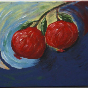 Pomegranate Art Acrylic