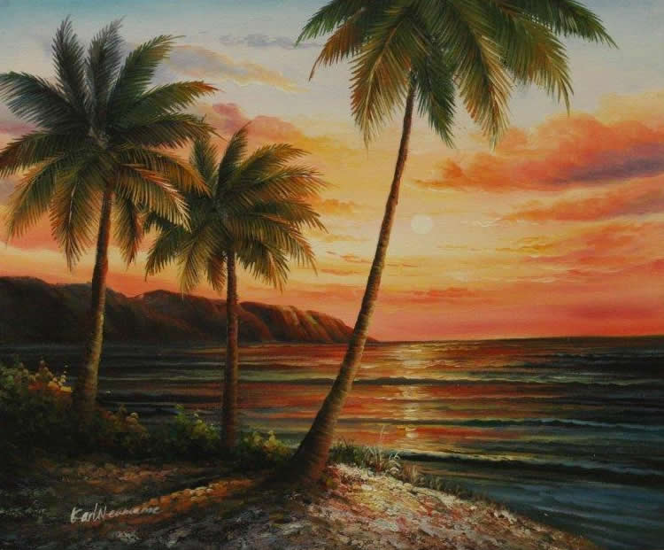 Sunset Beach Florida Picture Framing In Boca Raton Florida